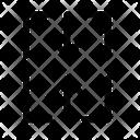 Merge Column Table Cell Icon
