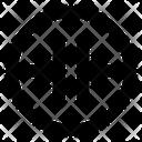 Merge horizontal arrow Icon