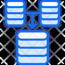 Merger Data Database Icon