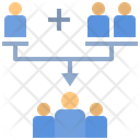 Merger Consolidation Assemble Icon
