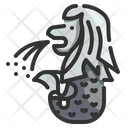 Merlion Icon