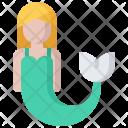 Mermaid Fish Fantasy Icon