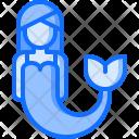 Mermaid Fish Fairy Icon