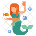 Mermaids Creature Legend Icon