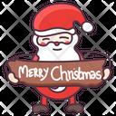 Santa Claus Christmas Christmas Gift Icon