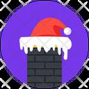 Merry Christmas Santa Hat Hat Icon
