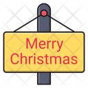 Christmas Merry Board Icon