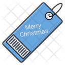 Barcode Tag Merry Icon