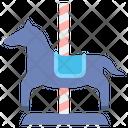 Merry Go Round Funfair Carousel Horse Carousel Icon