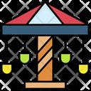 Merry Go Round Carousel Carnival Icon