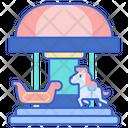 Merry Go Round Icon