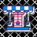 Merry Go Round Carousel Amusement Park Icon