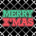 Merry Christmas Xmas Icon