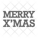 Christmas Decoration Merry Icon