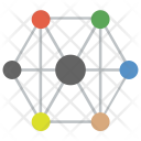 Mesh Network Topology Icon