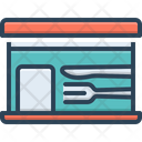 Mess Spoons Fork Icon