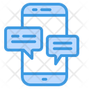 Chat Text Message Communication Icon