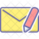 Message Edit Chat Icon