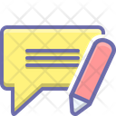 Message Edit Information Icon