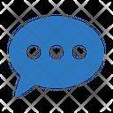 Message Bubble Comment Icon