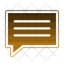 Message Feedback Social Icon