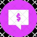 Message Alert Banking Icon