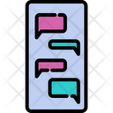 Chatting Message Conversation Icon