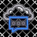 Message Text Bubble Icon
