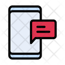 Message Notification Mobile Icon