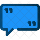 Message Bubble Conversation Icon