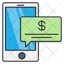 Message Banking Alert Icon
