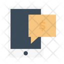 Message Mobile Finance Icon