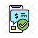 Message Approved Payment Icon
