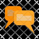 Message Bubbles Communication Icon