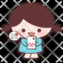 Happy Smile Mail Icon