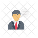 Message Employee User Icon