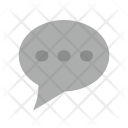Message Bubble Dots Icon