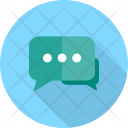 Message Board Chatting Icon