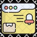 Message Reminder Web Icon