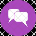 Message Chatting Communication Icon