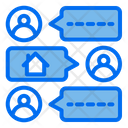 Message Discuss Buyer Experience Icon