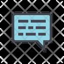 Phone Message Talk Call Icon