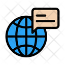 Message Communication Global Icon