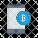 Bubble Message Bitcoin Icon