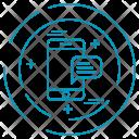 Mobile Smartphone Message Icon