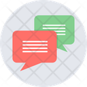 Message Icon in Rounded Style