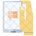 Message Chat Smart Phone Icon