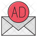 Ads Message Inbox Icon