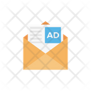 Ads Message Email Icon