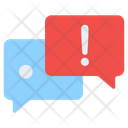 Message Alert Warning Message Chat Alert Icon